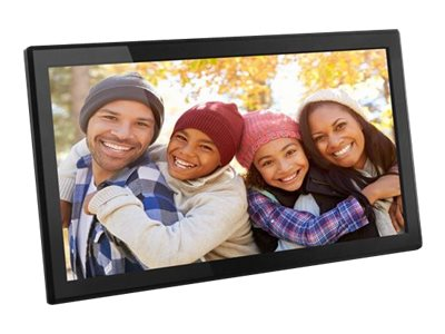 Aluratek AWS17F Digital photo frame flash 16 GB 17.3INCH 1920 x 1080 gloss black