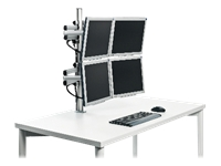 Novus Tetra Support System Quattro - Mounting kit for 4 LCD / plasma panels
