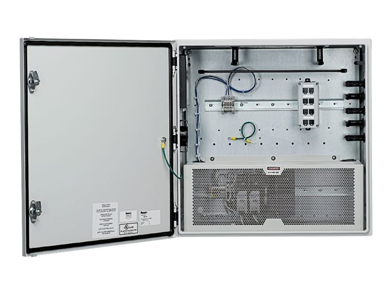 Panduit Switch Ready Network Zone System - network device security cabinet