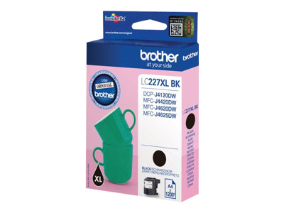 Brother LC 227XLBK Sort 1200 sider