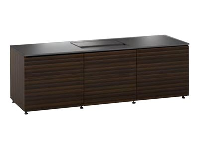 Salamander Seamless Stealth Solution Zurich Cabinet unit for projector aluminum