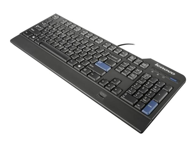 Lenovo Preferred Pro USB Fingerprint - keyboard - US