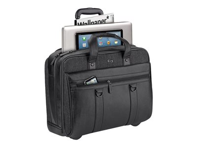 SOLO Executive Collection Bradford 17.3INCH Rolling Case Notebook carrying case 17.3INCH e