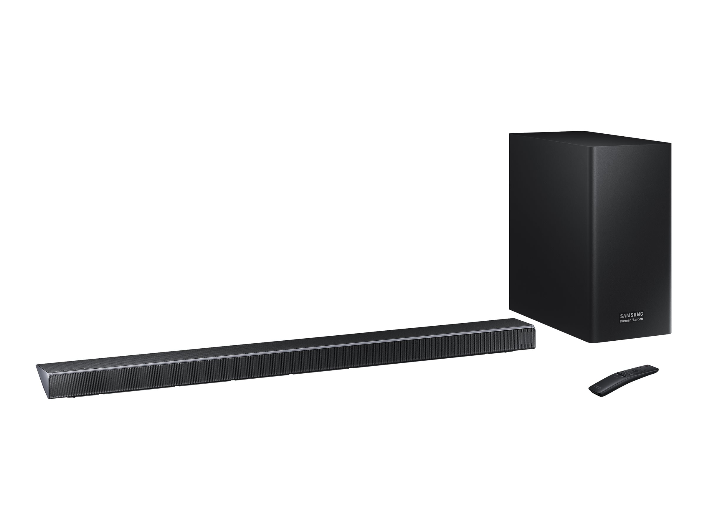 Samsung HW-Q70R - sound bar system - for home theater - wireless