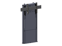 Chief Large FUSION LFD1U Dynamic Height Adjustable Floor Support