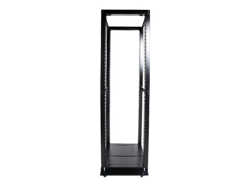 StarTech.com 42U 4 Post Open Frame Server Rack - Adjustable Floor Standing Data Rack - Computer / Network Cabinet (4POS…