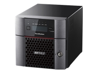 BUFFALO TeraStation 5210DN - NAS server - 2 bays - 2 TB - SATA 6Gb/s - HDD 1 TB x 2 - RAID 0, 1, JBOD - RAM 4 GB - 10 Gigabit Ethernet - iSCSI - with 3 years 24-hour TeraStation VIP HDD Exchange Service