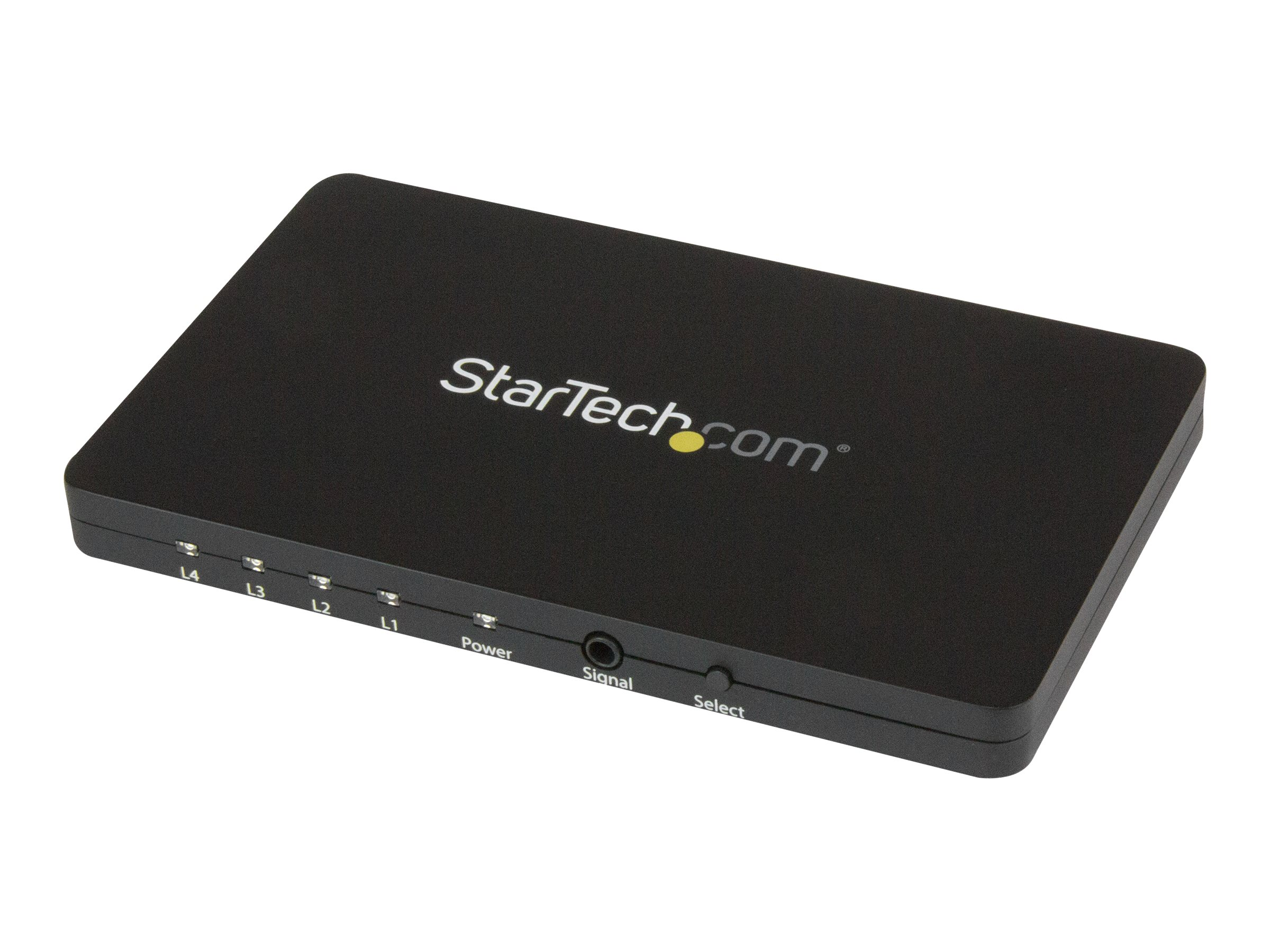 StarTech.com 4 Port HDMI Switch - 4K 30Hz - Aluminum Housing and MHL Support - 4x1 HDMI Switcher Box - 4K HDMI Selector…
