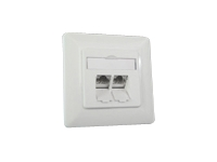 BTR IT CONNECT E-DAT C6 8/8(8) UP Cat.6 - Flush mount outlet