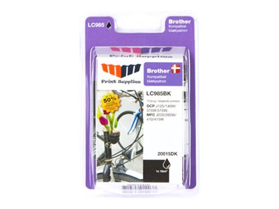 MMPS Black Inkjet Cartridge (LC970BK / LC1000BK)