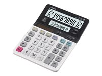 Casio DV-220 Desktop calculator 12 digits solar panel, battery