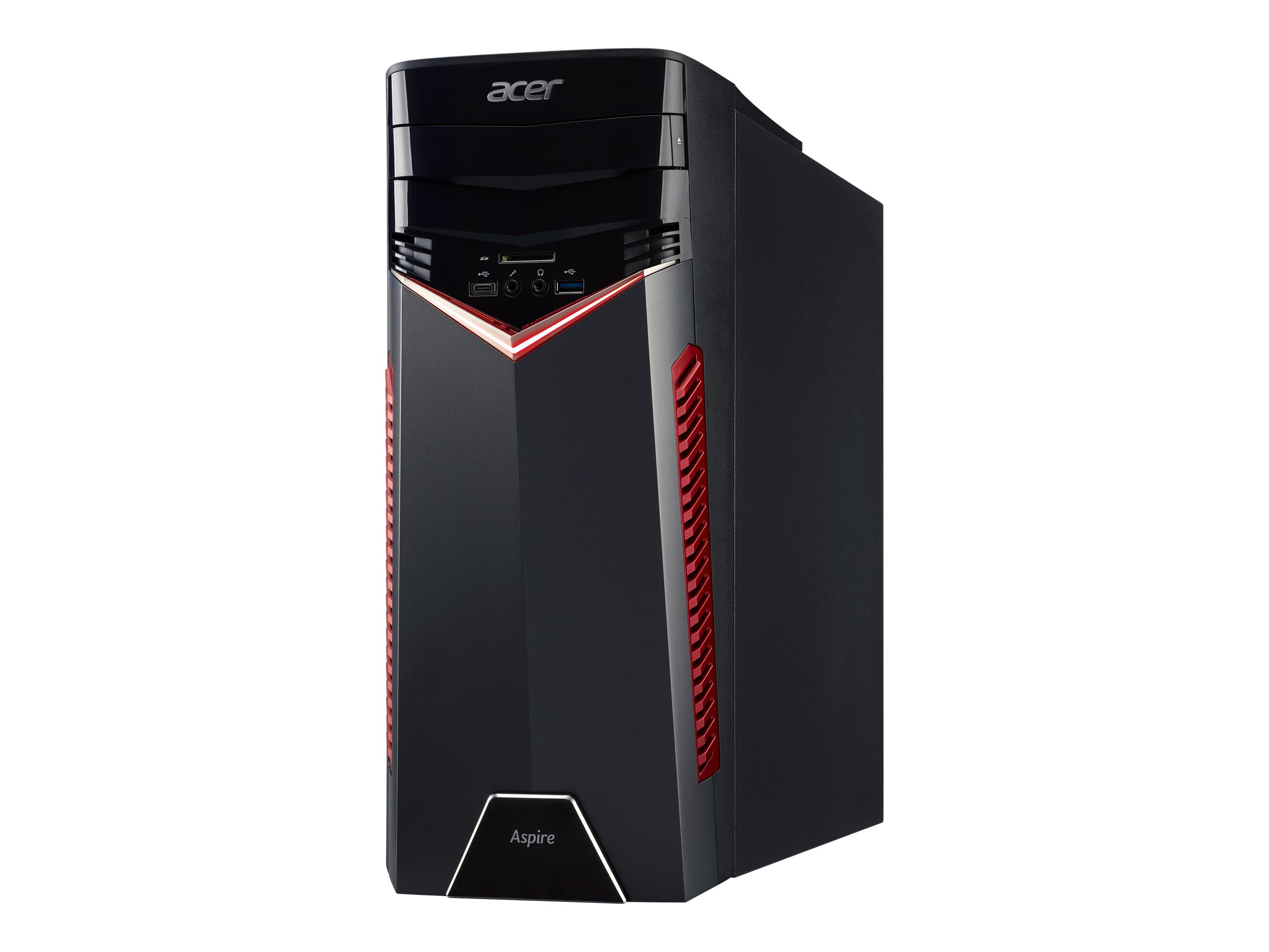 Acer Aspire GX-281_W - tower - Ryzen 5 1600 3.2 GHz - 8 GB - HDD 1 TB