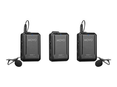 Movo TDSourcing WMX-1-DUO - wireless microphone system