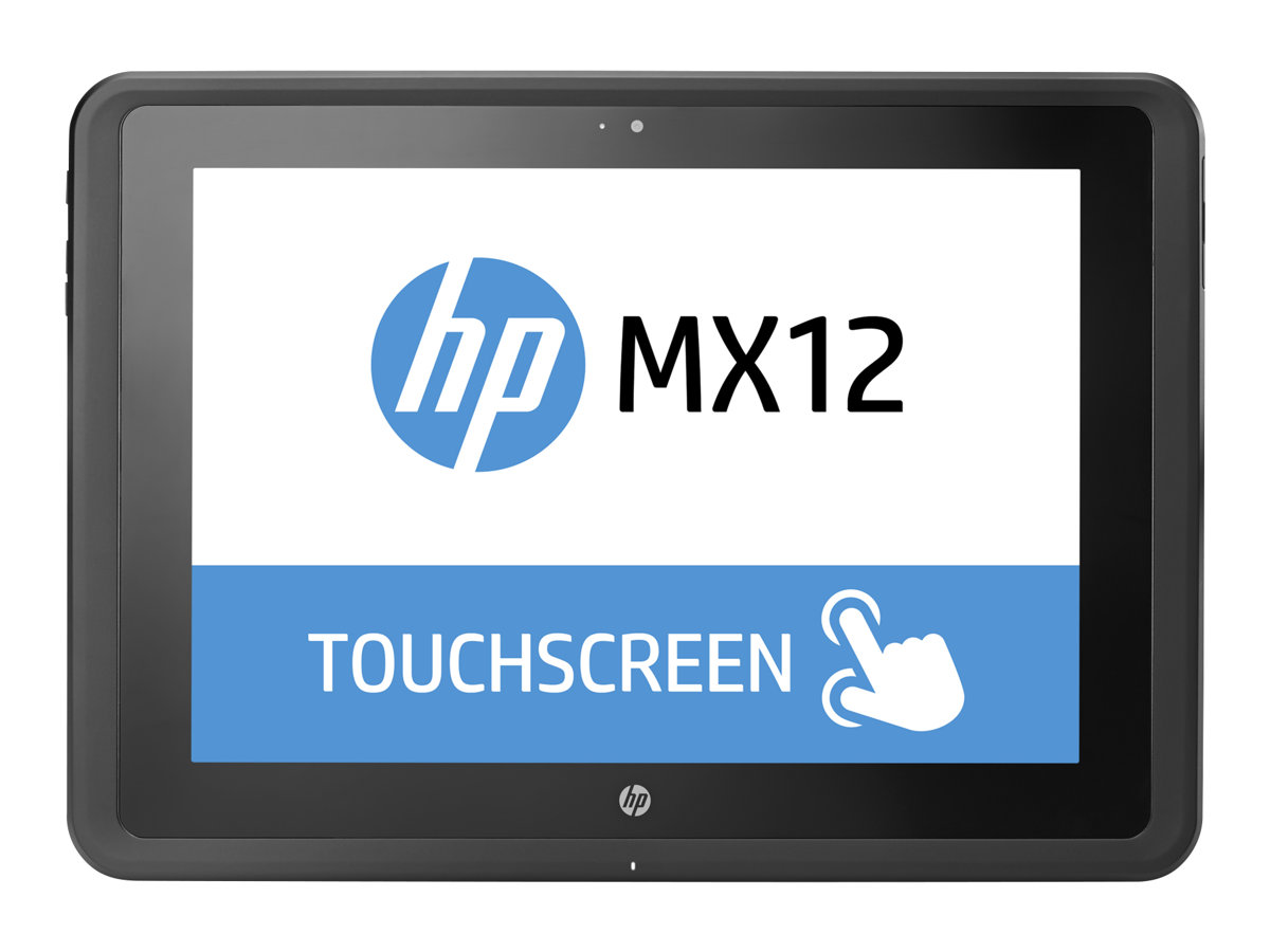 HP MX12 Retail Solution - Tablet - Core m3 7Y30 / 1 GHz - Win 10 Pro 64-Bit - 4 GB RAM - 128 GB SSD HP Value