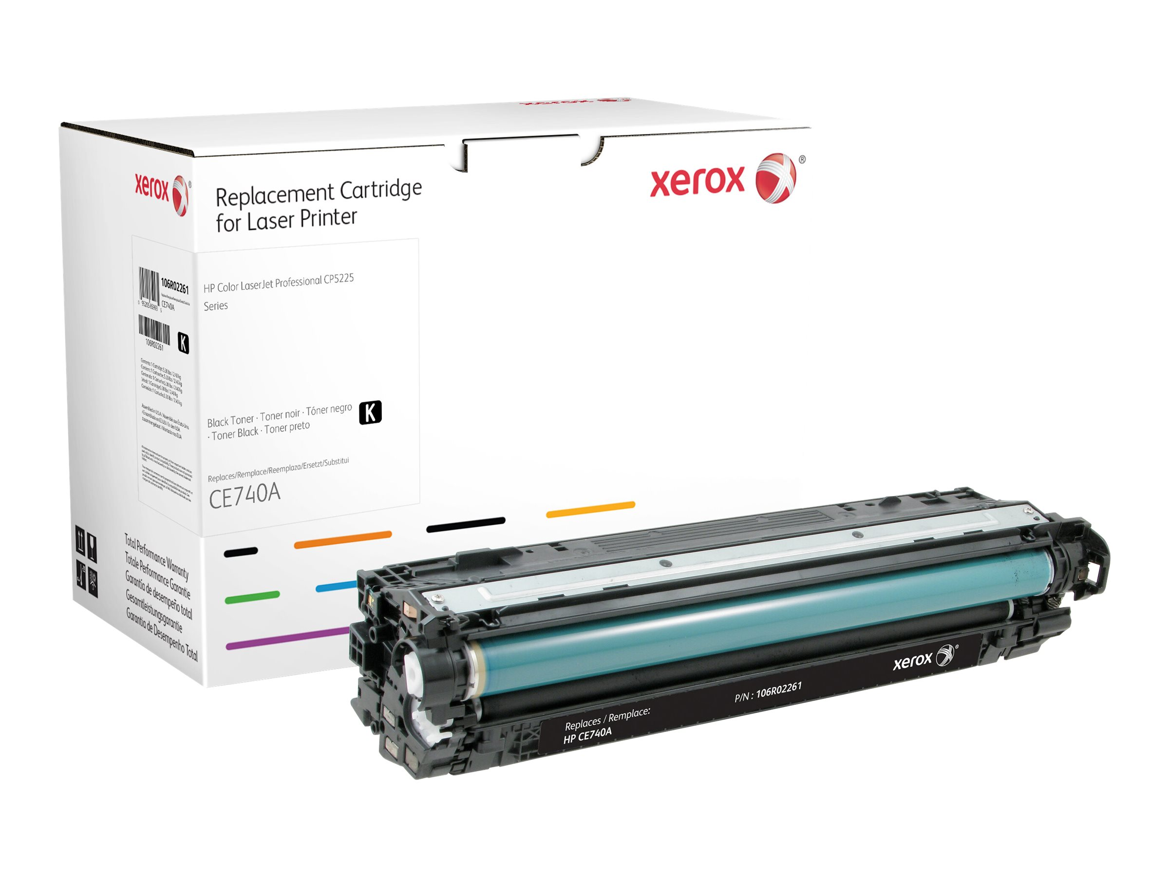 Xerox - black - original - toner cartridge (alternative for: HP 307A)