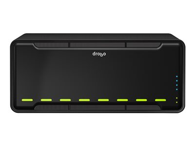 Drobo B810n NAS server 8 bays 32 TB HDD 4 TB x 8 Gigabit Ethernet 3U