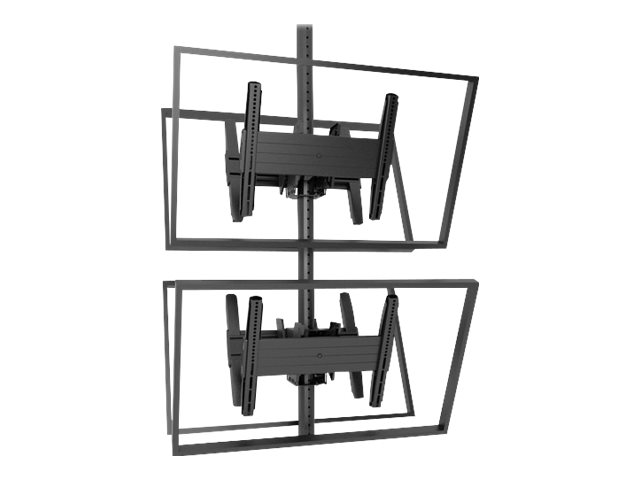 Chief Fusion Medium Back-to-Back Stacked Ceiling Mount - mount