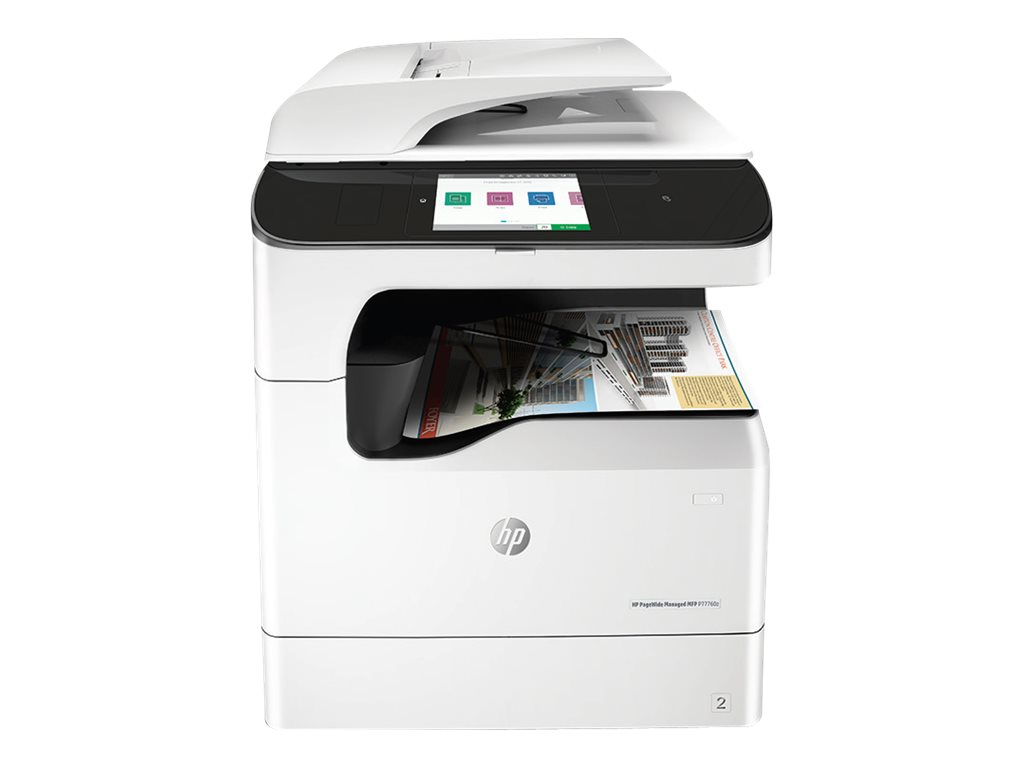 Copieur PageWide Managed Color MFP HP P77760z vue avant
