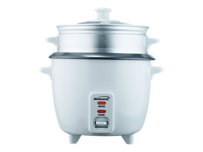 Brentwood TS-700S Rice cooker/steamer 350 W white