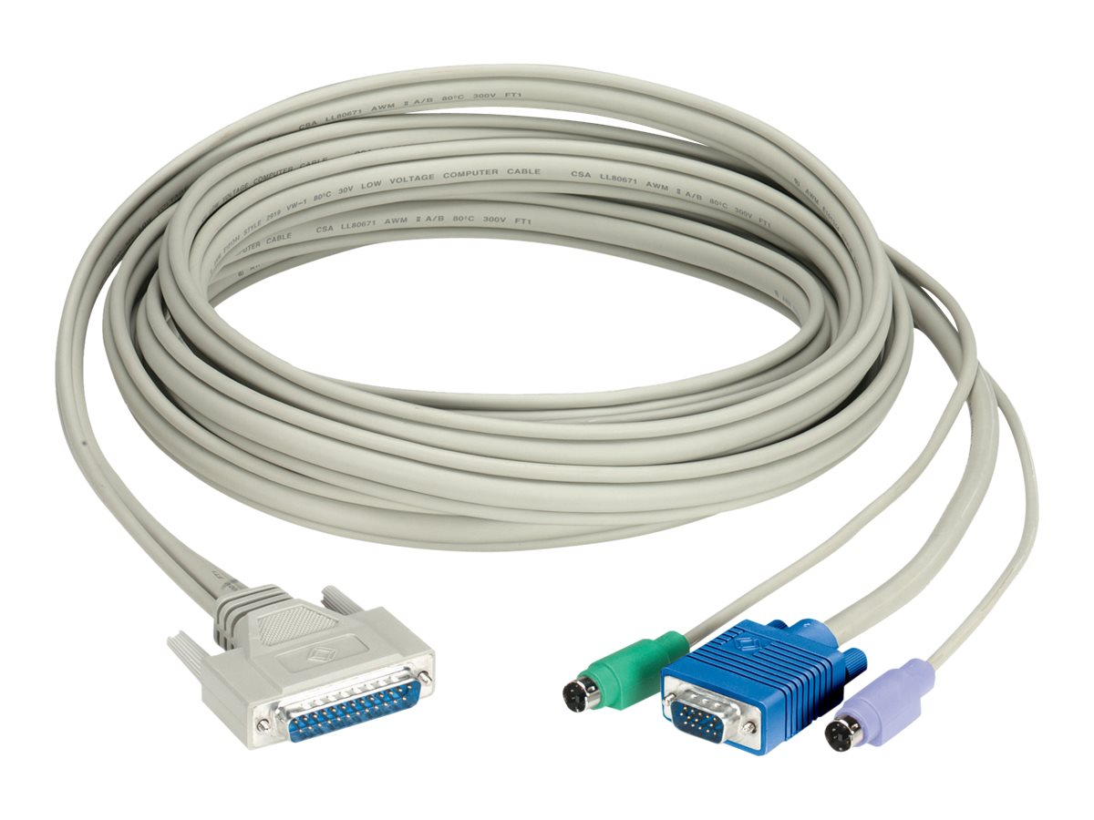 Black Box CAT5 Extender Cable with DDC Support - keyboard / video / mouse (KVM) cable - 90 cm