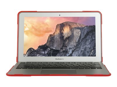 Max Cases MAX Extreme Shell Notebook top and rear cover 13INCH red
