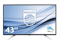 Philips Brilliance BDM4350UC 43' 3840 x 2160 VGA (HD-15) HDMI DisplayPort MHL 60Hz