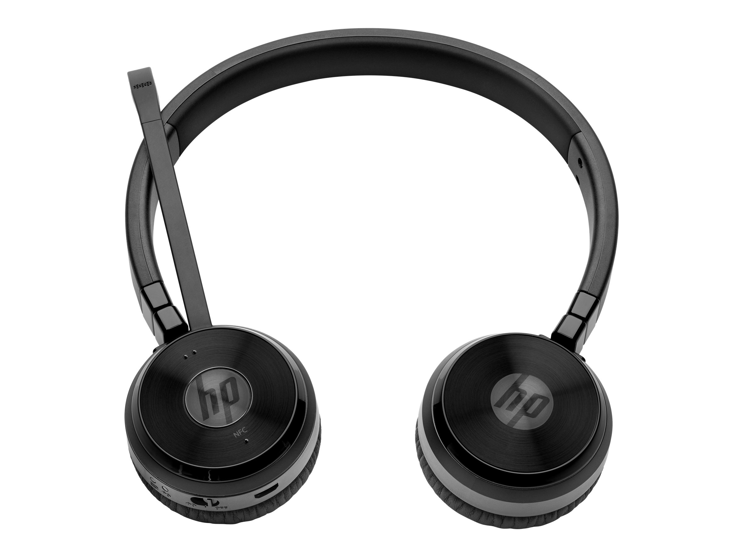 HP UC Wireless Duo - Headset - Full-Size - Bluetooth - drahtlos - NFC