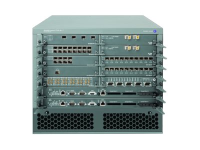 Alcatel-Lucent 7750 SR7 Switch Fabric and Control Processor Module DC Power Chassis Starter Bundle - router - rack-mountable