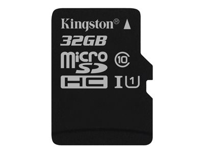 Kingston Canvas Select microSDHC 32GB UHS-I U1 / Class10