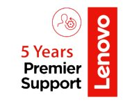 Lenovo On-Site + Premier Support Extended service agreement parts and labor 5 years  image