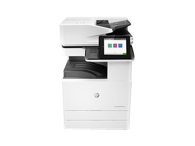 Copieur LaserJet Managed MFP HP E72525dn - vitesse 25ppm vue avant