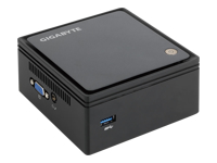 Gigabyte BRIX GB-BXBT-2807 (rev. 1.0) - Barebone - Ultra Compact PC Kit - 1 x Celeron N2807 / 1.58 GHz - HD Graphics - GigE - WLAN: 802.11b/g/n, Bluetooth 4.0