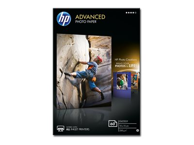 HP Advanced  Fotopapir 100 x 150 mm 60ark
