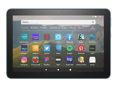 Amazon Fire HD 8 10th Generation tablet Fire OS 7 64 GB 8INCH IPS (1280 x 800)