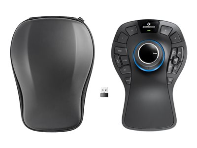 3Dconnexion SpaceMouse Pro Wireless - 3D mouse - 2.4 GHz