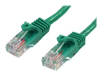 StarTech.com 5m Green Cat5e / Cat 5 Snagless Ethernet Patch Cable 5 m - Network cable - RJ-45 (M) to RJ-45 (M) - 5 m - UTP - CAT 5e - snagless, stranded - green
