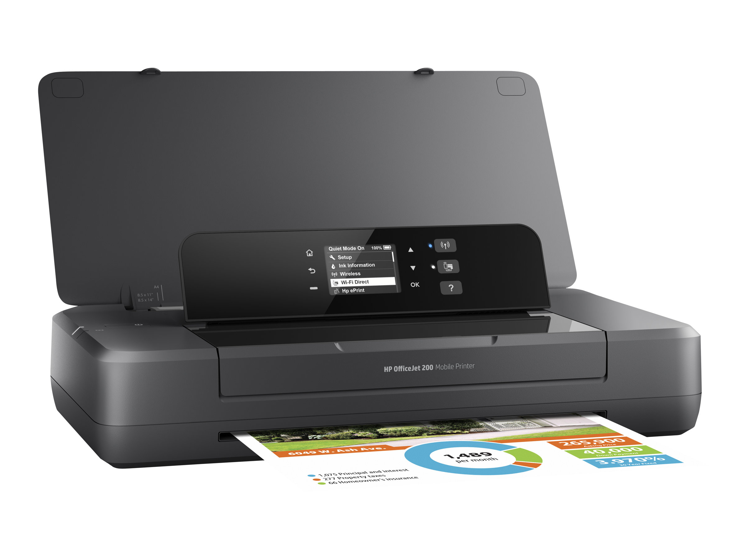 hp officejet 200 mobile printer imprimante portable. Black Bedroom Furniture Sets. Home Design Ideas