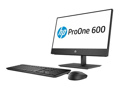 HP ProOne 600 G4 All-in-one 1 x Core i5 8500 / 3 GHz RAM 4 GB HDD 500 GB DVD-Writer