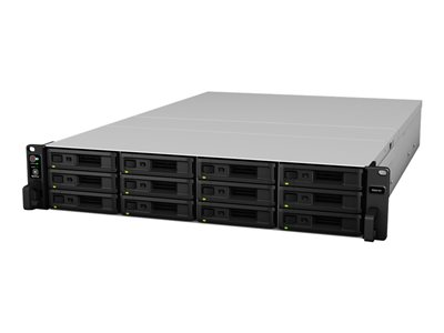 Synology RackStation RS2418+ NAS server 12 bays rack-mountable SATA 6Gb/s