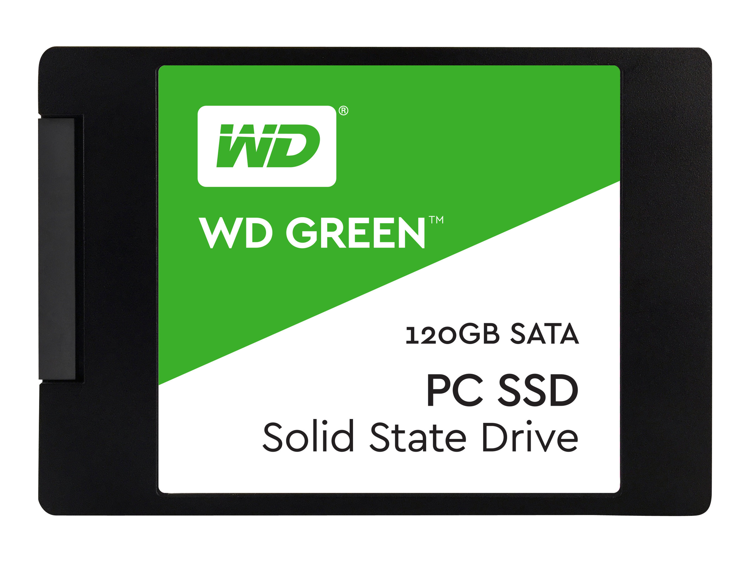 WD Green PC SSD WDS120G1G0A - Solid-State-Disk - 120 GB - intern - 6.4 cm (2.5