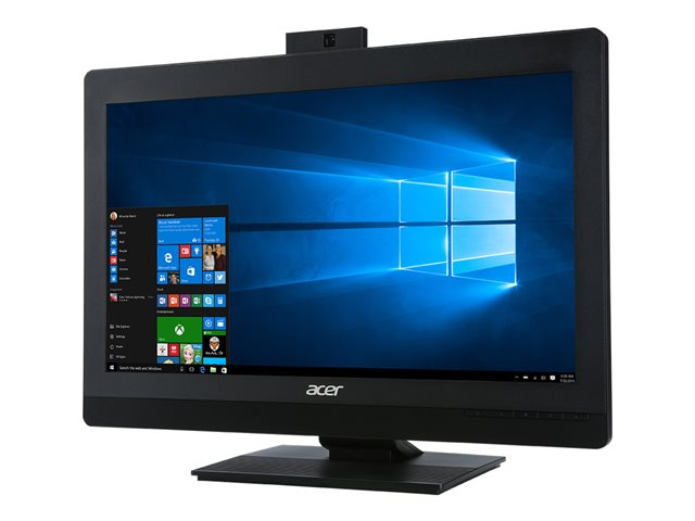 "Acer Veriton Z4820G - Tout-en-un - 1 x Core i5 8400 / 2.8 GHz - RAM 8 Go - HDD 1 To - graveur de DVD - UHD Graphics 630 - GigE, 802.11ac Wave 2, Bluetooth 5.0 - LAN sans fil: 802.11a/b/g/n/ac Wave 2, Bluetooth 5.0 - Win 10 Pro 64 bits - moniteur : LED 23.8"" 1920 x 1080 (Full HD)"