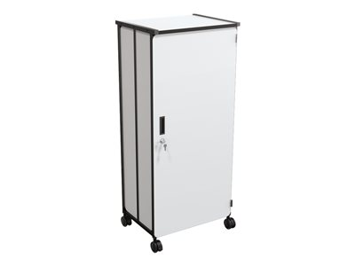 MooreCo Trolley 10 shelves particle board