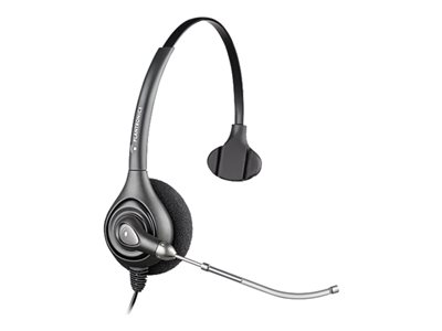Plantronics SupraPlus HW251 Headset on-ear wired Quick Disconnect