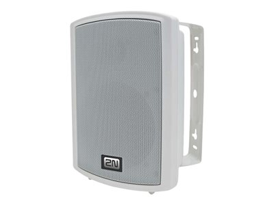2N SIP IP speaker for PA system Ethernet, Fast Ethernet, PoE 12 Watt white