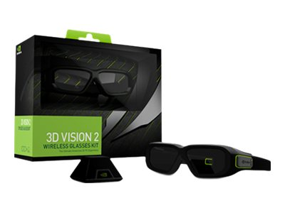 NVIDIA GeForce 3D Vision 2 Wireless Glasses Kit - 3D-Brille - Active Shutter