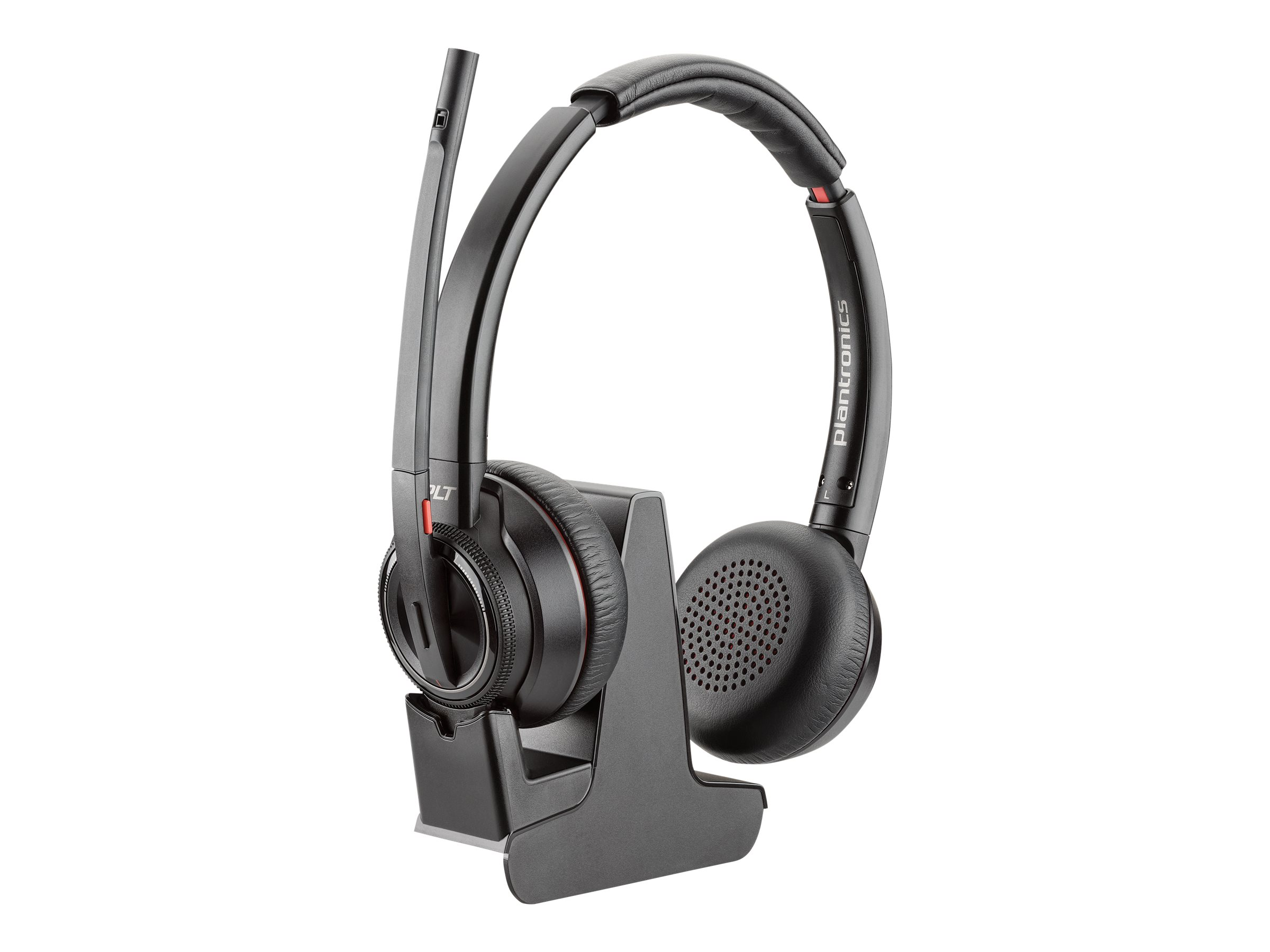 Poly - Plantronics Savi 8200 Series W8220 Spare - headset - with charging cradle