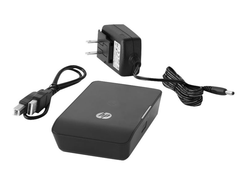 HP 1200w NFC/Wireless Mobile Print Accessory - Direktdruckadapter - 802.11b, 802.11g, 802.11n, NFC - für Color LaserJet Managed Flow MFP M680; LaserJet Managed MFP M680