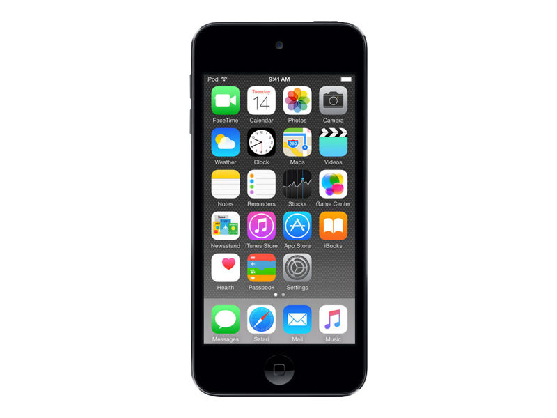 Apple iPod touch - 6. Generation - Digital Player - Apple iOS 8 - 32 GB - Space-grau