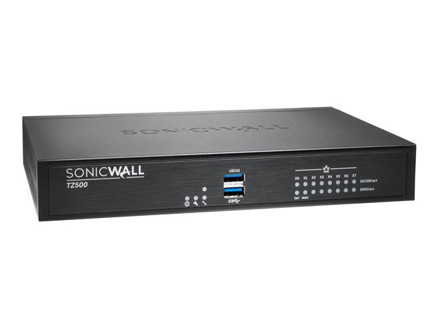 SonicWall TZ500 High Availability - Security appliance - 8 ports - GigE