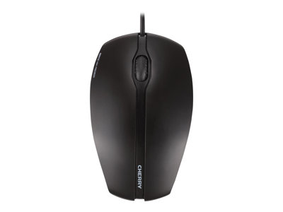 CHERRY GENTIX Mouse right and left-handed optical 3 buttons wired USB black
